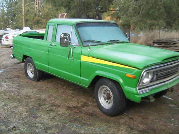Wagoneer Turned Truck? Spokane, Wa $500 | eWillys