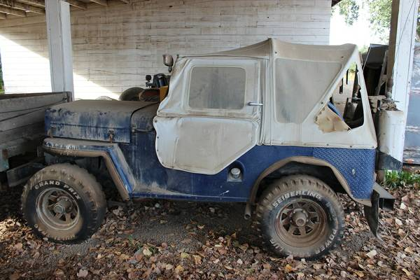 1960 CJ-3B Apple Valley, CA $2800